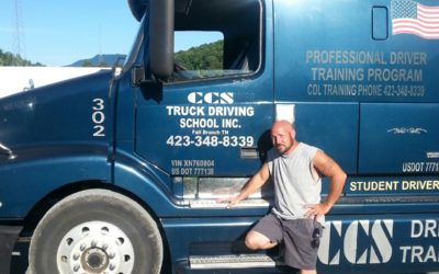 Don passed his CDL Exam!