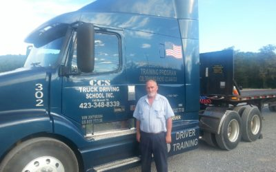 Pat passed his CDL exam!