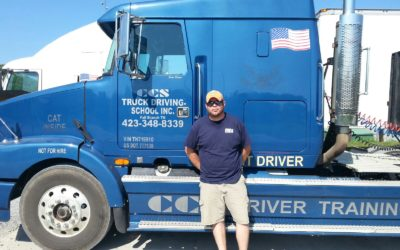 Dakota passed his CDL exam!