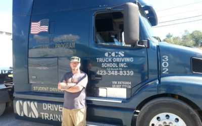 John passed his CDL exam!