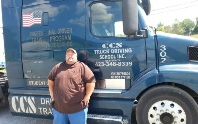 Jason passed his CDL exam!