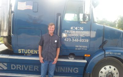 Donnie passed his CDL exam!