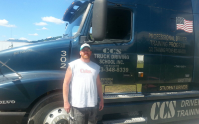 Steve passed his CDL exam!
