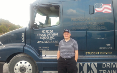 Dale passed his CDL Exam