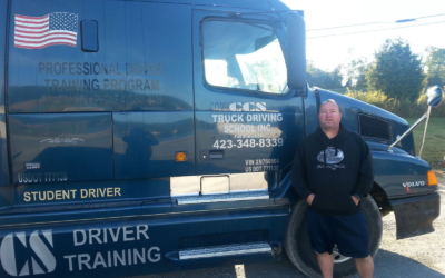 Dean passed his CDL exam!
