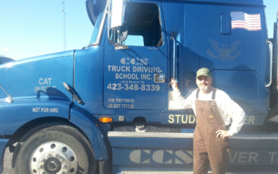 Ben passed his CDL exam