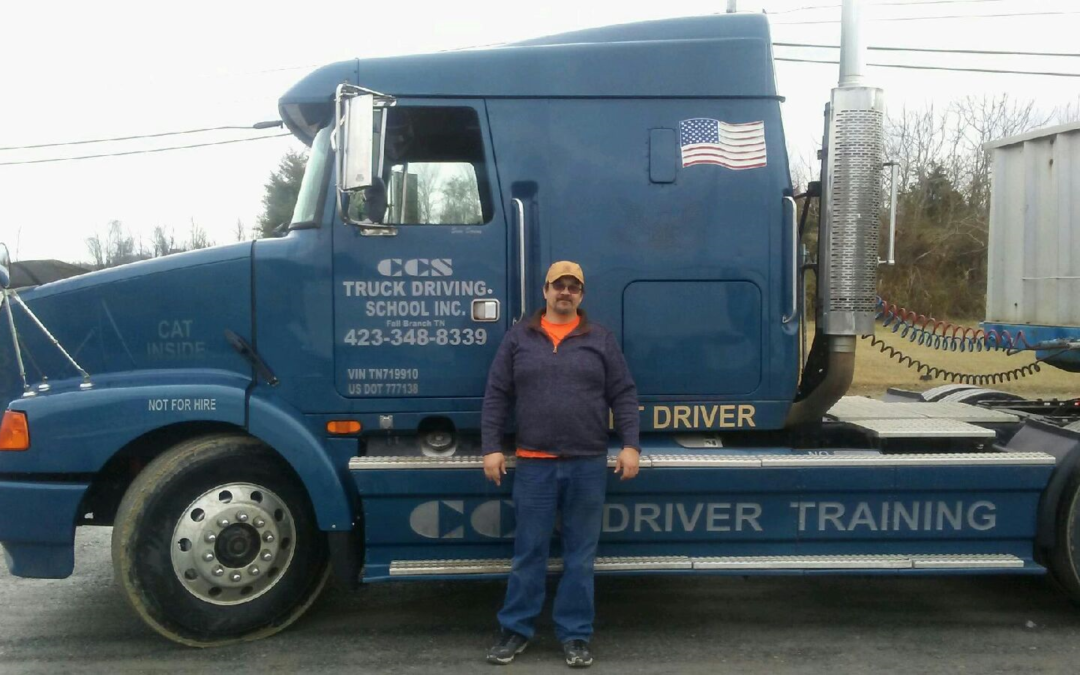 Kevin passed his CDL exam!