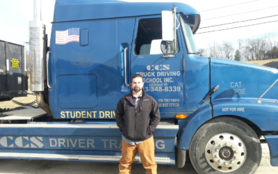 Matt Passed his CDL Exam!