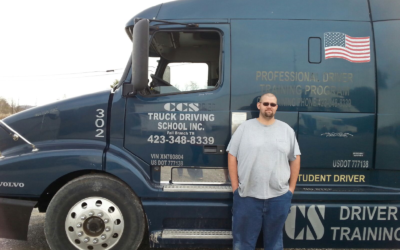 Scott passed his CDL exam!