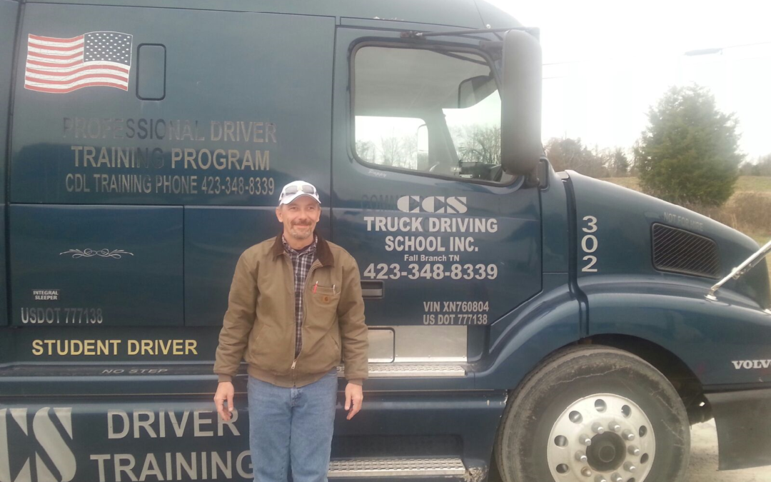 Shawn passed his CDL exam!